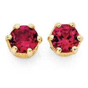 Michael Hill ruby stud earrings Winthrop Melville Area Preview