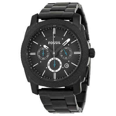 FOSSIL FS4552 Machine Chronograph Black Ion-plated Men's Watch