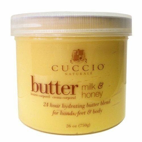 Cuccio Naturale Milk and Honey Butter Blend 26oz (750g) [Health and Beauty]