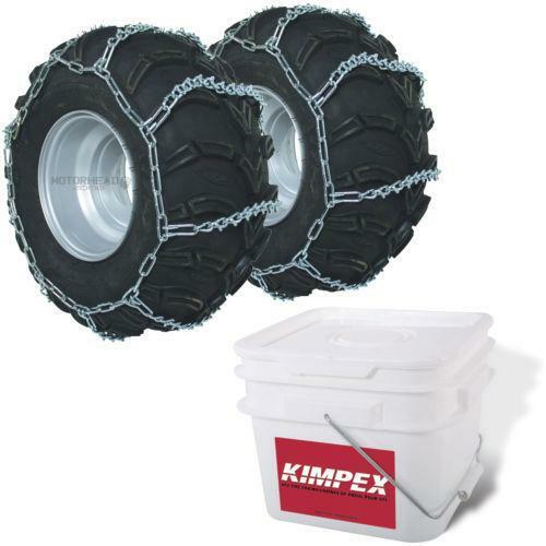 Atv Tire Chains : Atv tire chains ebay