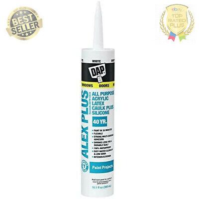 Dap Inc 18152 10.1oz White Alex Plus Acrylic Latex Caulk With Silicone