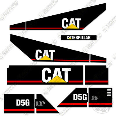 Caterpillar D5g Lgp Decal Kit Equipment Crawler Tractor Dozer 7-year Vinyl
