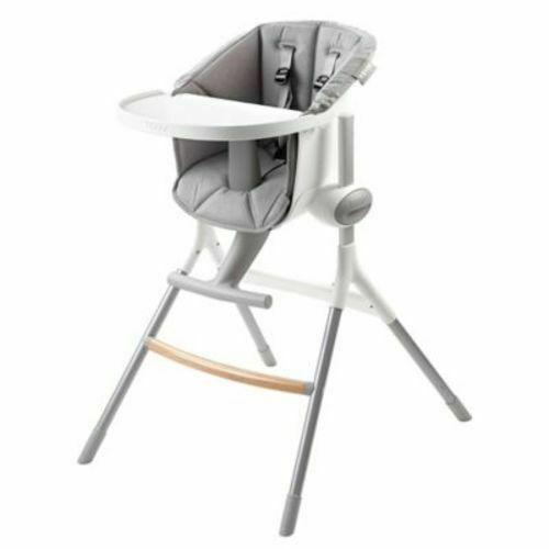 Beaba Up & Down Adjustable High Chair - White