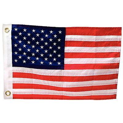"""12x18 Embroidered POWMIA POW MIA 210D Sleeved Garden Stand 12/""""x18/"""" Flag"""