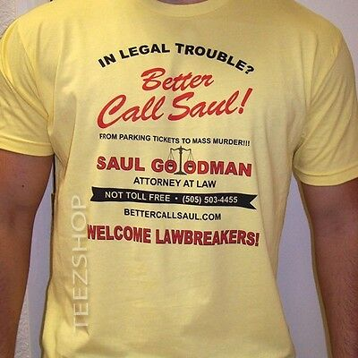 Better Call Saul Funny Breaking Bad Los Pollos Walter White Lawyer Show T Shirt