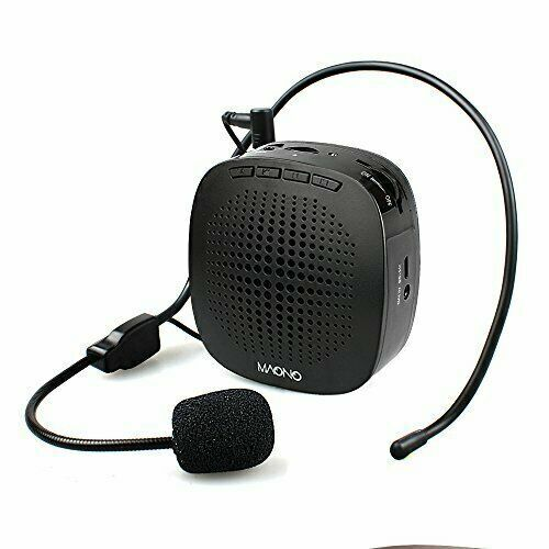 Voice Amplifier, MAONO AU-C03 Mini Rechargeable PA system (VOICE AMPLFIER)