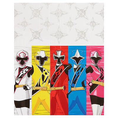 POWER RANGERS Ninja Steel PLASTIC TABLE COVER ~ Birthday Party Supplies Cloth ()