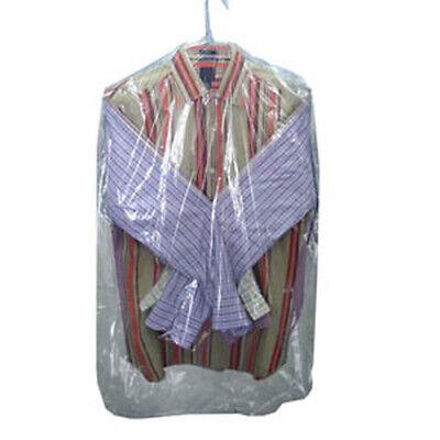21 X 4 X 38 .6 Mil Clear Plastic Garment Bags 510roll - Laddawn 8010