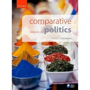 Comparative Politics, Good Condition Book, , ISBN 9780199665990