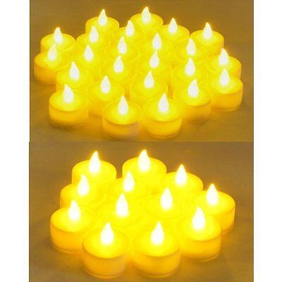 Flameless LED Tealight  Candles Tea Light Candle 72pcs Battery Operated - Battery Operated Tea Candles