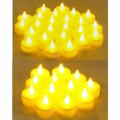 Flameless LED Tealight  Candles Tea Light Candle 72pcs Battery Operated LCL72 - Custom Candles