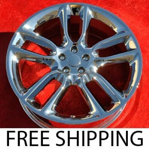 "Set Of 4 Chrome 22"" Ford Edge Lincoln Mkx Oem Factory Wheels Rims 3783"