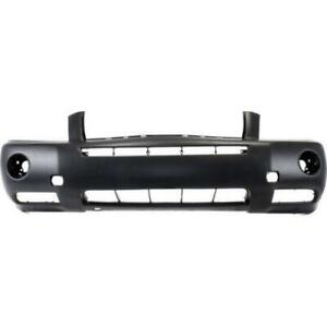 New TO1000278C CAPA Front Bumper Cover for Toyota Highlander 2004-2007