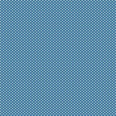 Used, Wilmington Backyard Pals by Kaye England 98559 441 Blue Dot BTY Cotton Fabric for sale  Camano Island