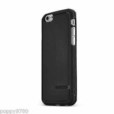 Body Glove Satin Ultra Thin Silicone Rubber Case for iPhone 6 Plus 6S Plus Black