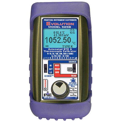 PIE 525B Automated Thermocouple & RTD Calibrator