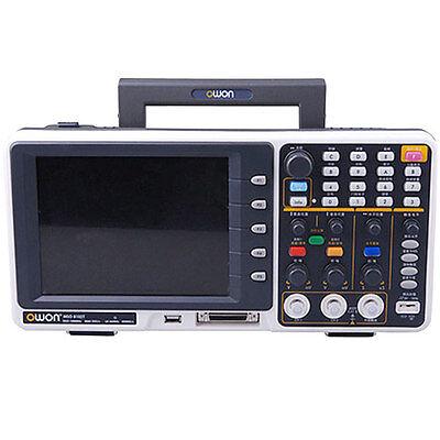 Owon Mso8202t Mixed Signal Oscilloscope Logic Analyzer 200mhz 2ch Gsas 2m 7.8