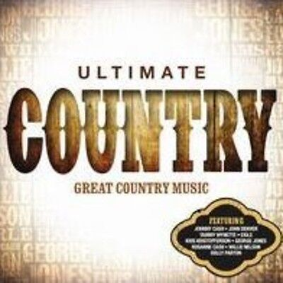 Various Artists   Ultimate Country  New Cd  Uk   Import