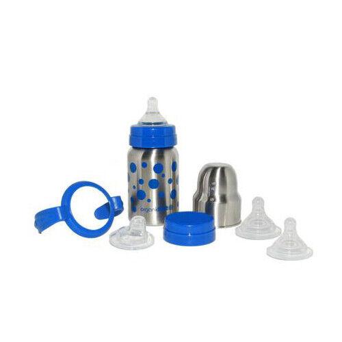 OrganicKidz Baby Grows Up Stainless Steel Bottle Set 9oz./270ml