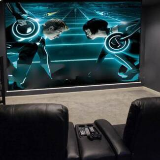 NEW MONSTER SCREEN with INFOCUS  PROJECTOR Wentworthville Parramatta Area Preview