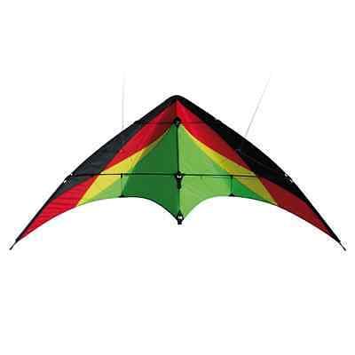 pro stunt kite dual line trickdrache power