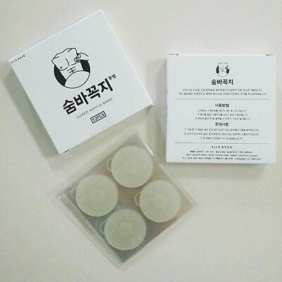 Nipple Band Cover Sticker Men Gentle Patch Pad Hide transparent color 52Pcs