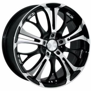 **PROMOTION** MAGS NEUFS 20'' 5 X 110/114.3 HD WHEELS SPINOUT BLACK MACHINED