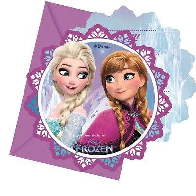 Frozen die Eiskönigin Nord Lichter Party Einladungen Kindergeburtstag Mädchen