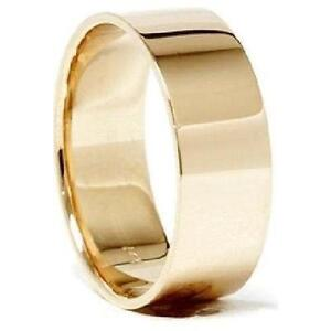 mens 14k solid gold wedding bands - Gold Wedding Rings For Men