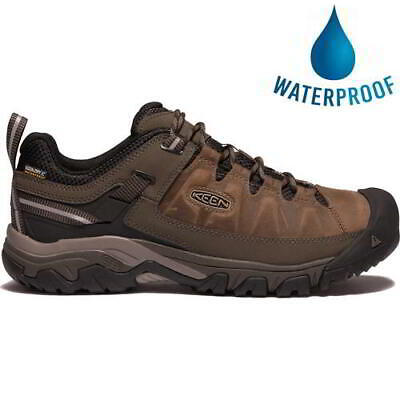 Keen Targhee III Mens Waterproof Walking Hiking Shoes Trainers Brown Size 8-13