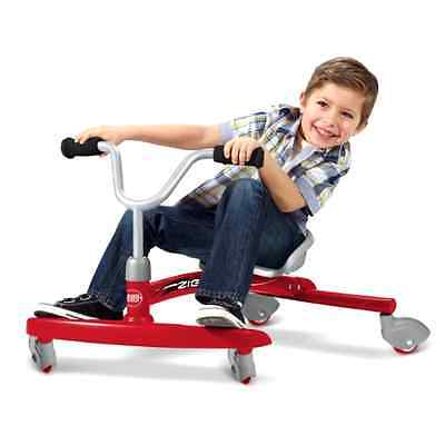 Radio Flyer Ziggle Ride On Tricycle Bike Toy Outdoor Trike Spin Kids Best