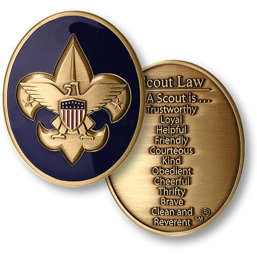 BOY SCOUTS OF AMERICA  SCOUT LAW BSA 2