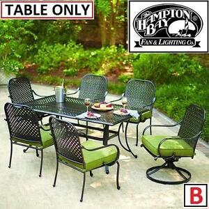 NEW HAMPTON BAY FALL RIVER PATIO DINING TABLE - 125243707
