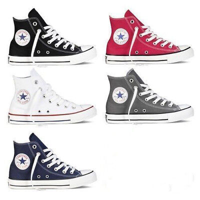 CONVERSE Chuck Taylor All Star High Top Shoes Canvas Unisex Sneakers Brand New Converse High Top Sneakers