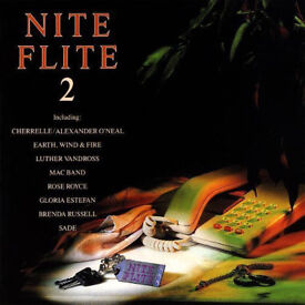 MUSIC CD ALBUM NITE FLITE 2 LOOK VARIOUS ARTISTS 16 GOOD TRACKS EARTH WIND FIRE*