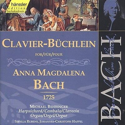 (Michael Behringer, J - Clavier Book for Anna Magdalena Bach 1725 [New CD])