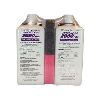 Air Techniques 43945 Formula 2000 Plus X-ray Processor Cleaner 1 Liter 2pk