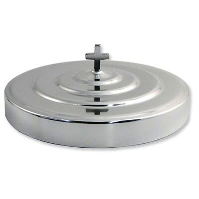 - BRAND NEW COMMUNION CUP TRAY COVER SILVERTONE HIGH POLISH FINISH STAINLESS STEEL