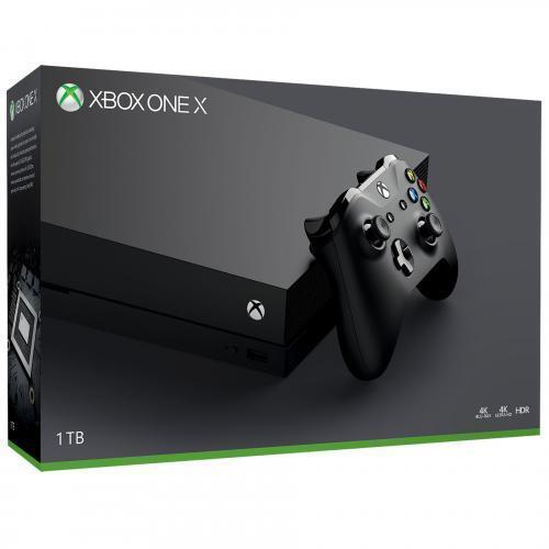 Xbox One X 1tb Black Console