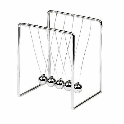 NEWTONS CRADLE - BALANCE BALLS KINETIC PENDULUM OFFICE DESK GIFT TOY