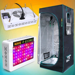 Hydroponic Grow Tent and Light - Brand New - MARS HYDRO