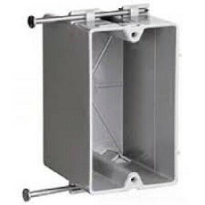 Pvc-switch Box (13 New Cooper Crouse Hinds TP1800 Gray CU Single Gang with Nails PVC Switch Box)
