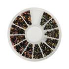Black Gems Nail Art