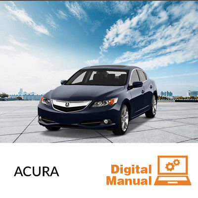 Acura   Service And Repair Manual 30 Day Online Access