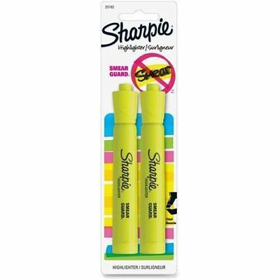 12 Count Sharpie Accent Highlighter Fluorescent Yellow Chisel Tip