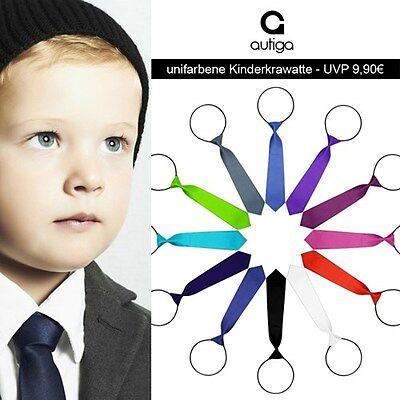 Kinderkrawatte Krawatte Kinder Jungen Gummiband gebunden dehnbar Konfirmation Kinder-krawatten