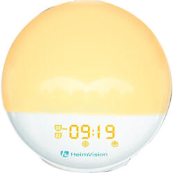 HeimVision A80S Smart Digital Sunrise Alarm Clock & Wake-Up Light