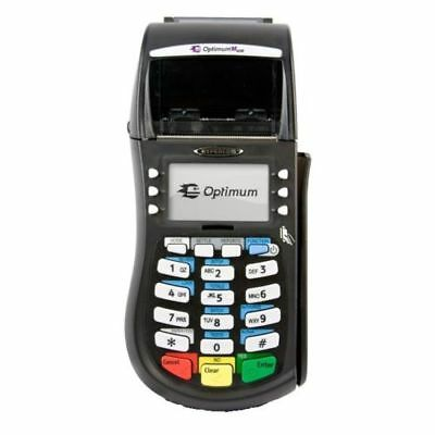 Tampered Hypercom Optimum M4230 Wireless Smart Card Chip Slot