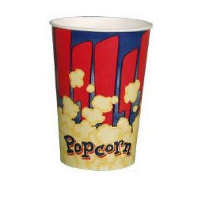 Popcorn Supplies - Popcorn Cups Tubs 32 Oz - Case Of 100