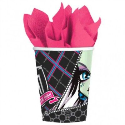 Monster High Birthday Party Supplies (Monster High Paper Cups 8ct Girls Birthday Party Supplies)